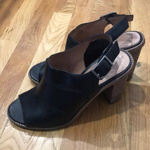 Madewll sling back block heels